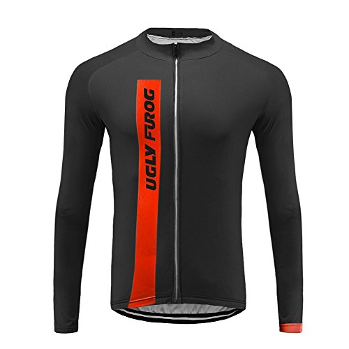 Uglyfrog JKTSCM12 Primavera ed Estate Uomo Sport all'Aria Aperta Usura Manica Lunga Magliette Ciclismo Maglia Bicicletta Bici Abbigliamento Bici Triathlon Wear