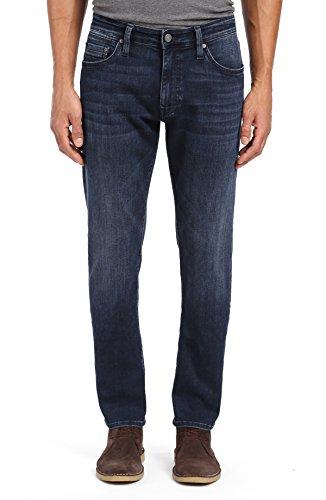 Mavi Men's Marcus Slim Straight Leg Jeans, Dark Sky Williamsburg 30 X 32