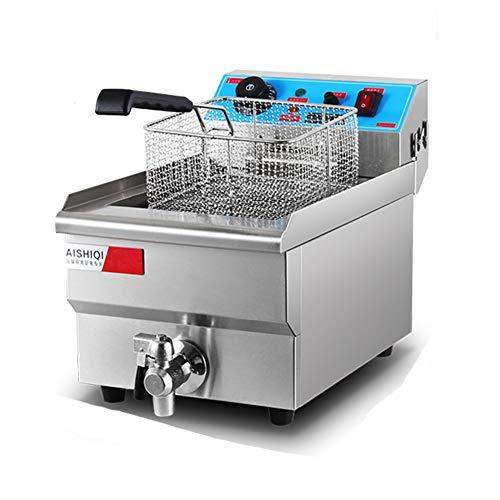 frying pan Freidora Eléctrica Comercial De Acero Inoxidable