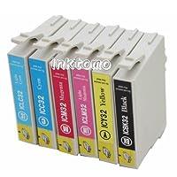 エプソン EPSON 【IC6CL32】 ICBK32 ICC32 ICM32 ICY32 ICLC32 ICLM32 6色パック 互換インクカートリッジ