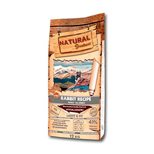 Natural Greatness Rabbit Recipe Alimento Seco Completo para Perros - 12000 gr 🔥