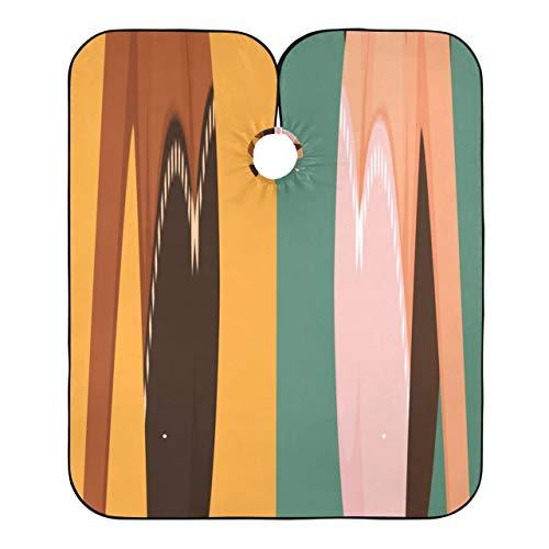 Capa de corte de pelo para nias hermosas de dibujos animados Capa de disfraz de conejito lindo para cortes de pelo Capa de corte de pelo ligera y elegante para hombres Cierre de presin ajustable