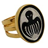 Factory Entertainment James Bond Thunderball Spectre Agent Ring Limited Edition Prop Replica, Gold