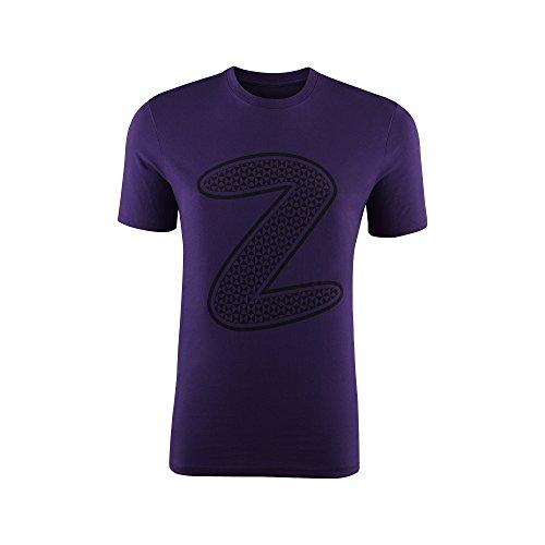 Zumba Camiseta Manga Corta Mirror Me Graphic Morado XS