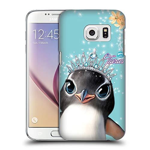 Head Case Designs Ufficiale Animal Club International Pinguino Facce Reali Cover Dura per Parte Posteriore Compatibile con Samsung Galaxy S7