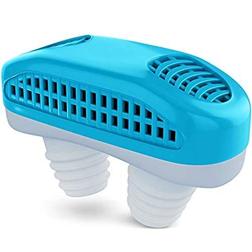 Tapones De Venteo De Nariz - Nasal Vent Mute Dilatadores Nasales Sleep Aid Clip Solución De Dispositivo Para Un Sueño Natural Cómodo Para Hombre Woman Kids - Paquete De 5,Blue