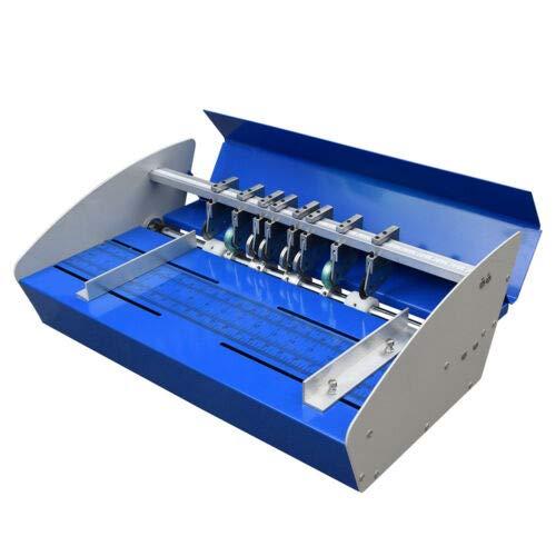 Elektrische Falzmaschine 46cm Elektrische Rillmaschine Desktop-Ordner für Elektrisches Papier Rillmaschine.