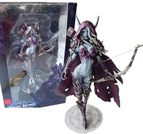 AWEIE World Of Warcraft Queen Sylvanas Windrunner,7 Inch Undead Queen Anime Figure World Of Warcraft Windrunner Sylvanas Home Decoration Accessories Game Figure Toys