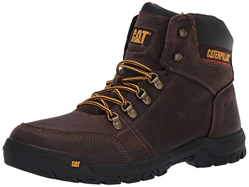 Caterpillar Men's Outline Work Boot, Seal Brown, 8.5 M US