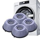 Guanyj 4 pcs Amortiguador Vibraciones para Lavadoras Almohadillas para Pies Lavadora Pies Lavadora Amortiguador Antideslizante Goma para Accesorios Lavadora Refrigerador Electrodomésticos,4cm