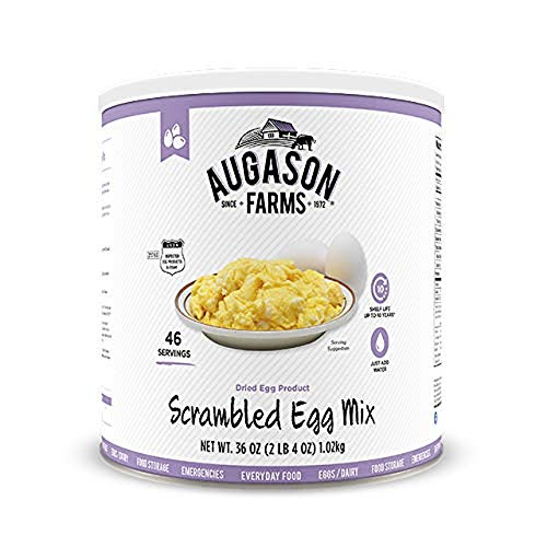 Augason Farms Scrambled Egg Mix, 36 OZ ( 2LB 4 OZ) 1.02 Kg