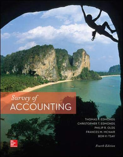 10 best edmonds survey of accounting 4th edition for 2021