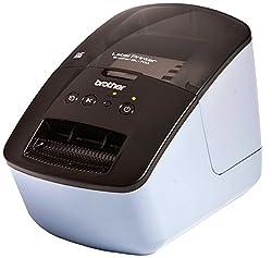 Brother QL700BG1 P-Touch QL-700B DK Etikettendrucker, 62 mm