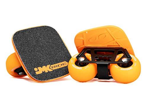 JMKRIDE freeskates (Orange Black) As seen on Braille!