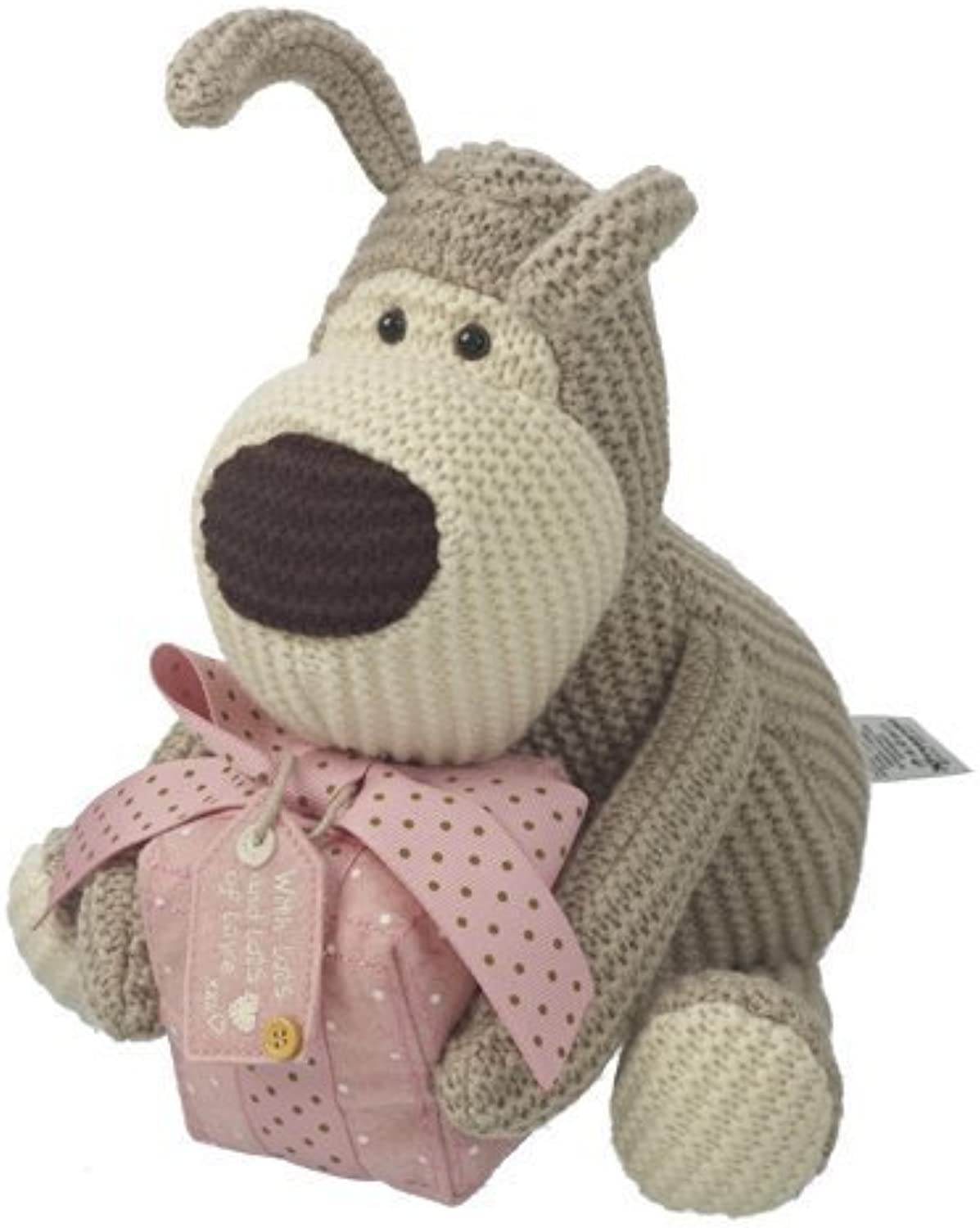 Boofle 8  Plush Toy - Boofle Holding A Present