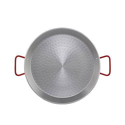 Metaltex - Padella per paella in acciaio lucido 13 porzioni 50 cm