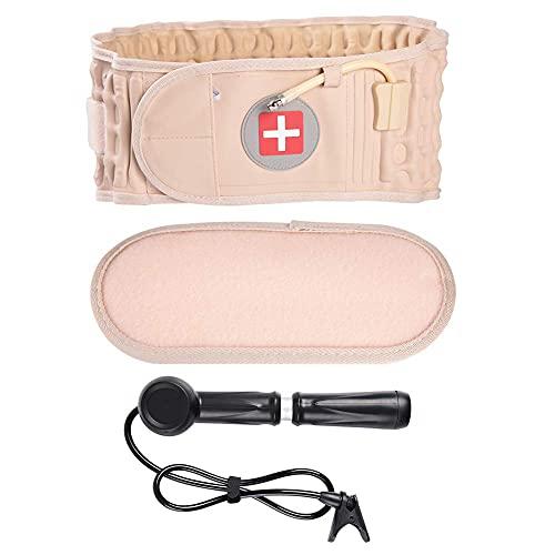Ceinture gonflable - Support Dos Ceinture Lombaire douleur de décompression de ceinture de taille de soins de santé gonflable soulager la ceinture arrière