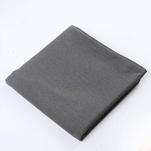 ILMF Rectangular Mantel, Anti-Sucio Lavable Mantel para Mesa Color Sólido Lino Exterior Cubierta para Mesa Adecuado para Sala de Reuniones Banquete Fiesta-Gris oscuro-100X160cm(39X63pulgada)