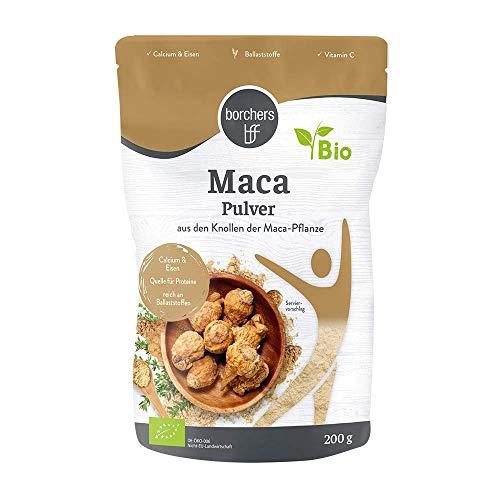 borchers Bio Maca-Pulver- Rohkostqualität 200 g