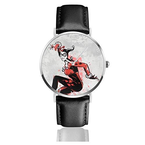 Relojes Anolog Negocio Cuarzo Cuero de PU Amable Relojes de Pulsera Wrist Watches Estar