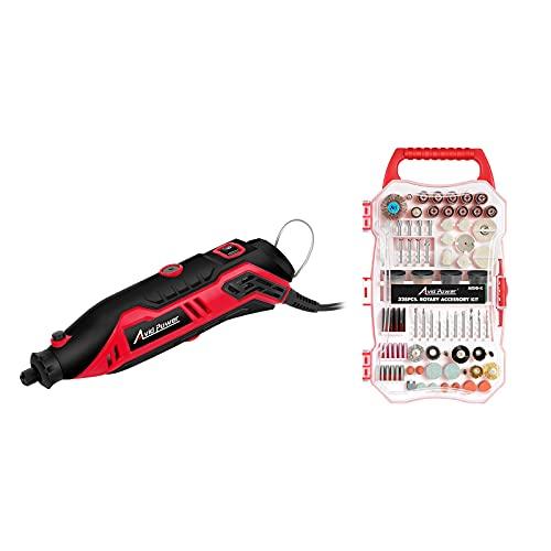 AVID POWER Rotary Tool Kit bundle with 328PCS Rotary Tool Accessories Kit