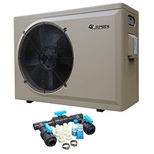 well2wellness Pool Wärmepumpe Heizpumpe PH 35L by Fairland® mit Einer Heizkapazität bis 13,5 kW + gratis Bypass-Set