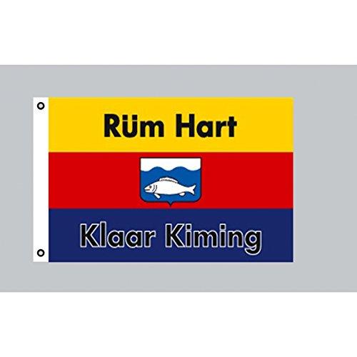 Fahne Flaggen SYLT RÜM HART 150x90cm