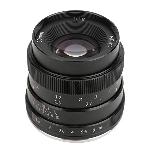 50 mm F1.8 vaste brandpunts lens, optische lens met Z-vatting voor Nikon Z6 Z7 Z50 spiegelloze camera, groot diafragma, perfect voor portretfotografie