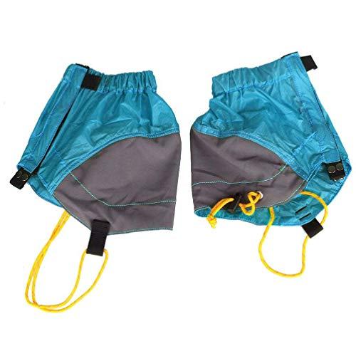BESPORTBLE 1 Paar wasserdichte Gamaschen mit Niedrigem Knöchel Verstellbare Reißfeste Beinstiefel Decken Leichte wasserdichte Gamaschen zum Klettern Ab.