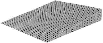 Rampe de seuil modulaire pour l'intérieur - Rampe pour seuil de...