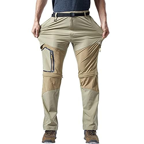 Pantalones de trabajo de carga para hombre pantalones de algodón para acampar al aire libre senderismo ajuste