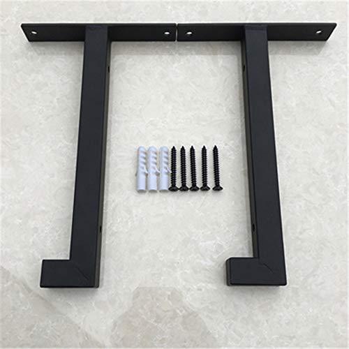 2 stuks beugels voor thuis, industriële meubels, steigers, wandbevestiging, multifunctioneel, duurzaam, ijzeren tafel, duurzaam 15cm