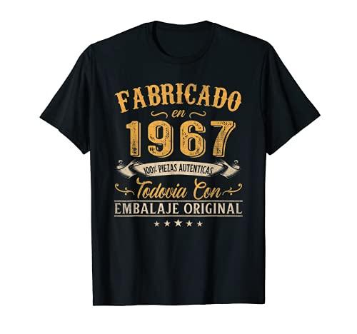 Fabricado En 1967 Regalo Para Hombre 54 Años Cumpleaños Camiseta