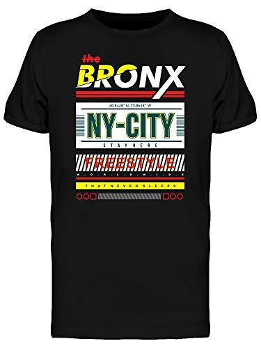 Camiseta masculina Tipografia The Bronx Ny City