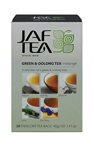 Jaf Tea Grüner & Oolong Tee - Melange - 20 Teebeutel