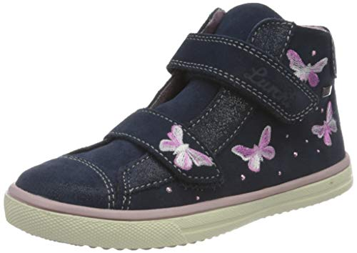 Lurchi Mädchen MARINI-TEX Sneaker, Navy, 22 EU