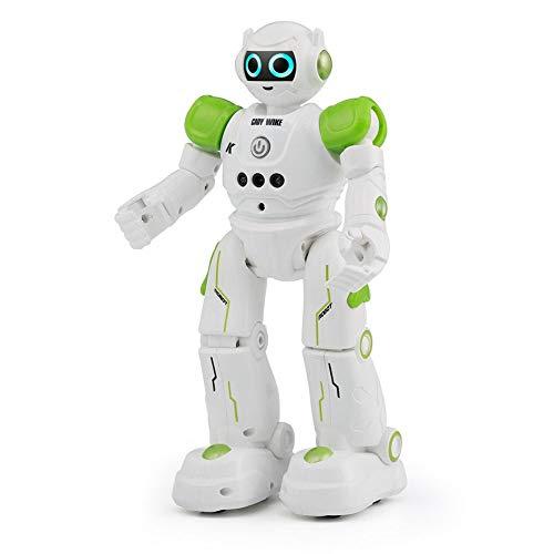 DBXMFZW Control Remoto Robot Inteligente Educación Early Puzzle Gesto Sensando RC Robot Cantante y Baile Táctil Tacis Smart Children's Toys Toys Programación Inteligente RC Robot Regalos para niños