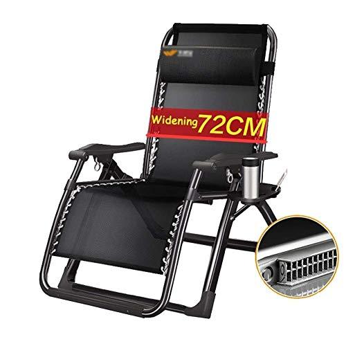 Gravity L'extérieur avec Pliante 200 À Soutient Fauteuil Zero Plage Kg WXF Inclinable Coussins Chaise Jardin Patio Chaise Lounger Surdimensionné RjLq5A43