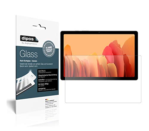 dipos I Protector de Pantalla Mate Compatible con Samsung Galaxy Tab A7 10.4 Pulgada (2020) Vidrio Flexible Cristal Proteccion 9H
