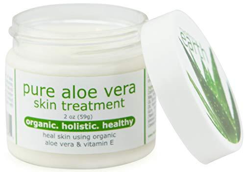 Pure Aloe Vera Treatment with Organic Coconut, Olive Oil & Vitamin E, 2 oz