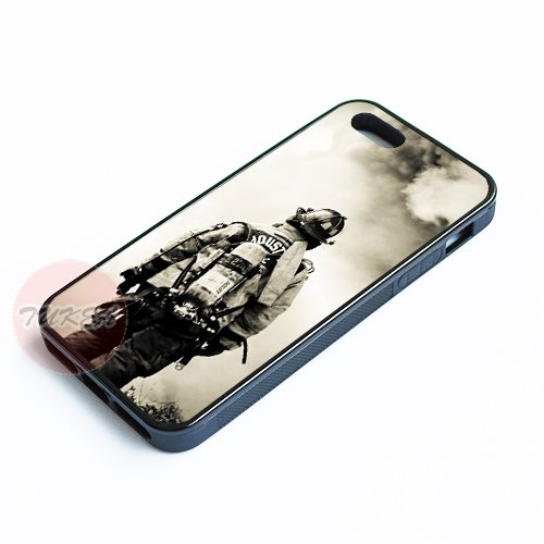 Cool Case Firefighter Fireman Fire Rescue Best Durable Phone Case for Apple iPhone 5 5s Cover Silicone Soft Shell with Gift Paking
