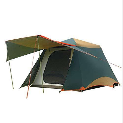 Automatisch campinggordijn met dubbele laag voor huishouden, waterbestendig, uv-bescherming voor camping in de open lucht.