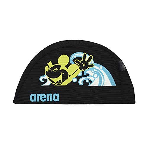 アリーナ (arena) スイミング用メッシュキャップ ディズニー パワーネット ブラック Sサイズ DIS-0358