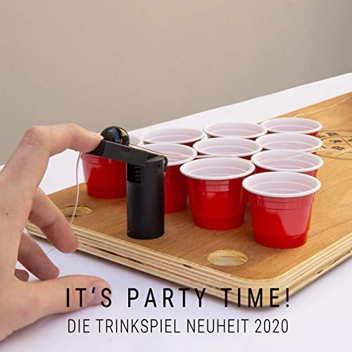 BeerBaller® Shot Pong Cherry – Beer-Pong als Shot Version! | TRINKSPIEL NEUHEIT 2020! | Ideal für Partys, Vorglühen, Festival, JGA oder als Geschenkidee - 8
