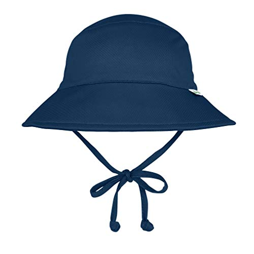 i play. by green sprouts Baby & Toddler Breathable Bucket Hat | All-day, UPF 50+ sun protection—wet or dry