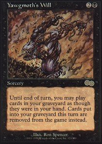 Magic The Gathering - Yawgmoth39;s Will - Urza