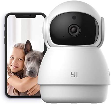 YI Indoor Wireless WiFi Security IP Camera Dome Guard Smart Nanny Pet Dog Cat Cam Baby Monitor product image