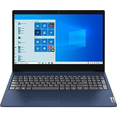 Lenovo IdeaPad 3 15.6″ HD (1366×768) Touchscreen Laptop, Intel Core i5-10210U, 1.6GHz, 8GB RAM, 512GB SSD, Windows 10 Home, Abyss Blue