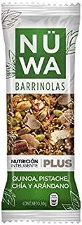 Barras de Superfoods de Quinoa, pistache, arándano y chía (24 pz)