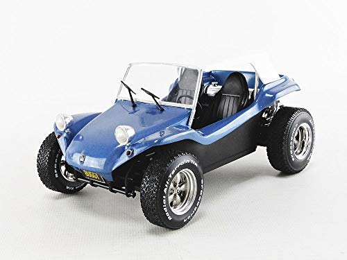 Solido S1802701 ROOF Blue-1/18-S1802701 1:18 1970 Meyers Manx Buggy-Blue Soft Top